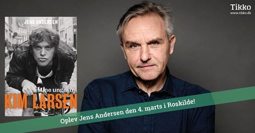 En aften med Kim Larsen - med Jens Andersen - Roskilde