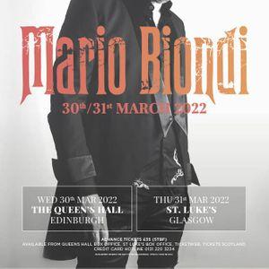 Mario Biondi St Lukes Glasgow April 21st 2021