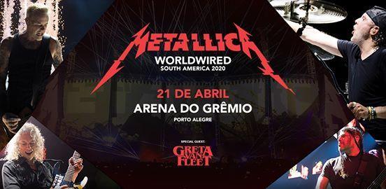 Metallica em Porto AlegreRS