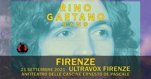 Rino Gaetano Band // Ultravox Firenze, Anfiteatro delle Cascine Ernesto de Pascale, 21 September | AllEvents.in