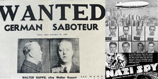 'World War II Homefront: Spies, Saboteurs, and Sympathizers in NYC' Webinar, 5 October   Online Event   AllEvents.in