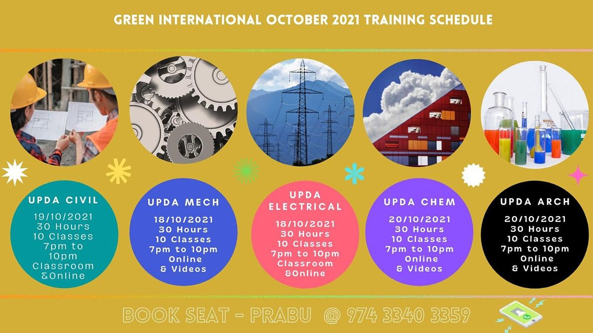 Exam for engineers in Qatar Civil Engineering Training | Event in Chennai | AllEvents.in