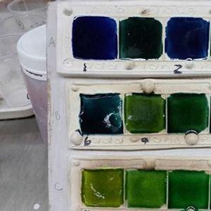 Glazing Workshop at Bellbird Arts Centre