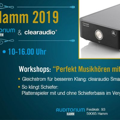 Analogtag Hamm 2019  powered by clearaudio