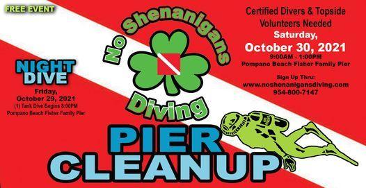 Clover Clean-Up @ Pompano Beach Pier, 30 October | Event in Pompano Beach | AllEvents.in