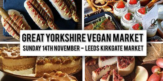 Great Yorkshire Vegan Winter Market, 14 November   Event in Leeds   AllEvents.in
