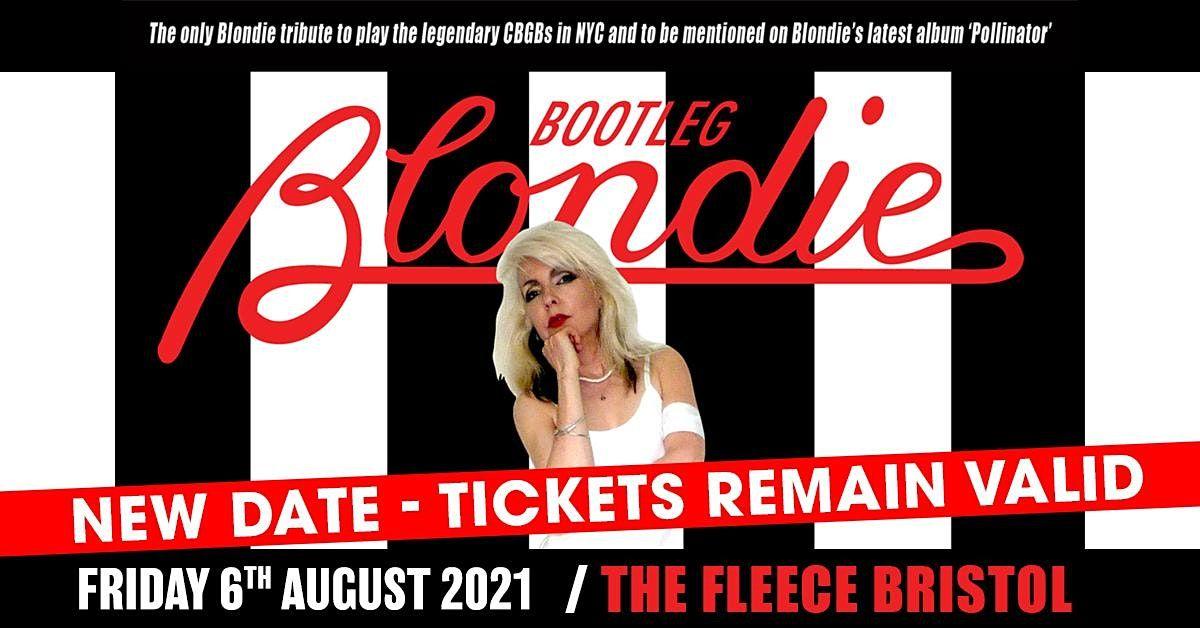 Bootleg Blondie, 16 April | Event in Bristol | AllEvents.in