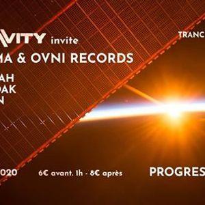Progressive Factory 8 - Gravity invite  SYGMA  OVNI Records