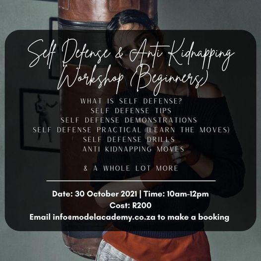 Self Defense Workshop, 30 October   Event in Randburg   AllEvents.in