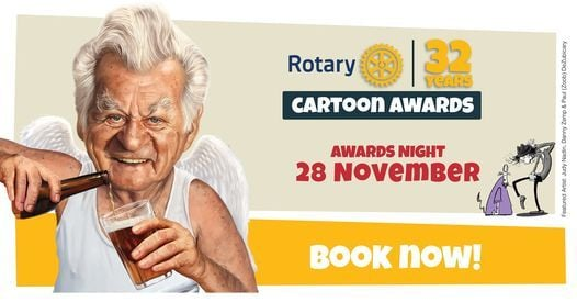 Rotary Cartoon Awards - Awards Night, 28 November   Event in Coffs Harbour   AllEvents.in