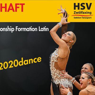 2020 WDSF European DanceSport Championship Formation Latin