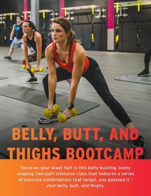 Belly Butts & Thighs Bootcamp | Event in Appleton | AllEvents.in
