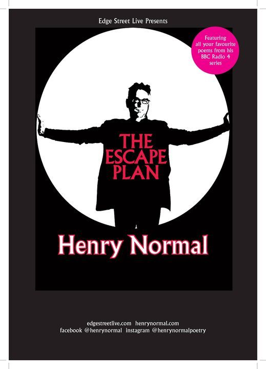 Henry Normal - The Escape Plan POSTPONED, 15 June | Event in Norwich | AllEvents.in