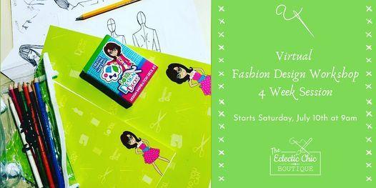 Virtual Fashion Design Workshop: 4 Week Session, 10 July | Online Event | AllEvents.in