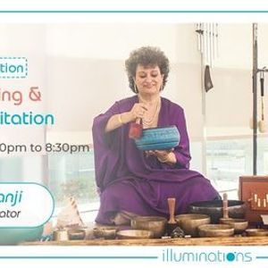 Onsite Meditation Chakra Healing And Gonging Meditation