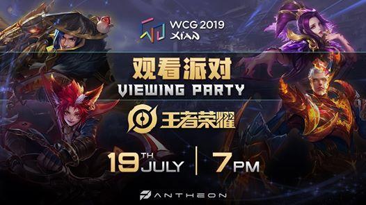 WCG 2019 Xi An