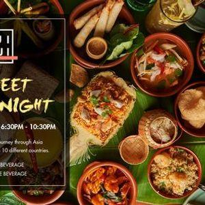 Street Food Night  Wednesday