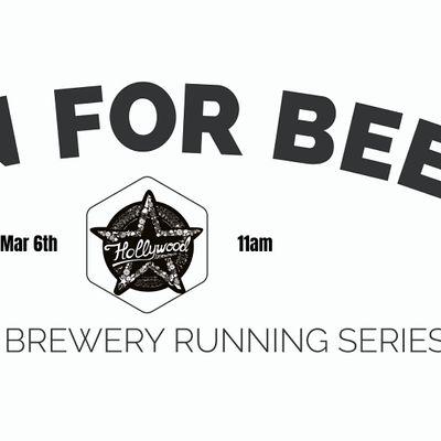 Beer Run Hollywood Brewing Co 2020-2021  Florida Brewery Running Series