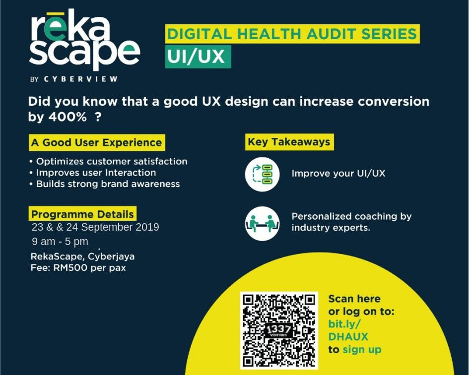 Digital Health Audit User Experience (UX)
