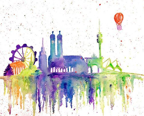 ArtMasters - PAINT PARTY - Munich Skyline