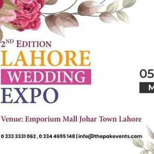 Lahore Wedding Expo - Second Edition