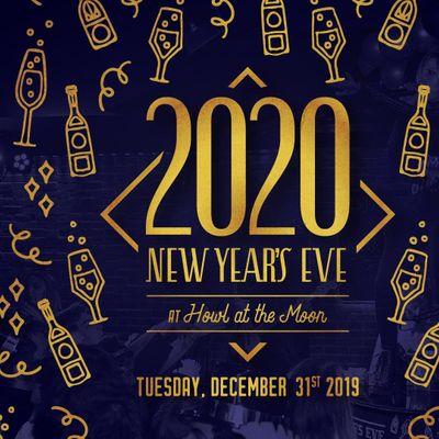 New Years Eve 2020 at Howl at the Moon Kansas City ...