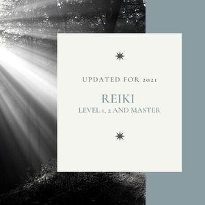 Reiki  - Level 1 2 & Master