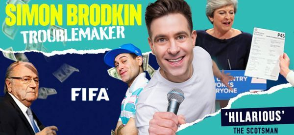 Simon Brodkin: Troublemaker, 19 September   Event in Birmingham   AllEvents.in