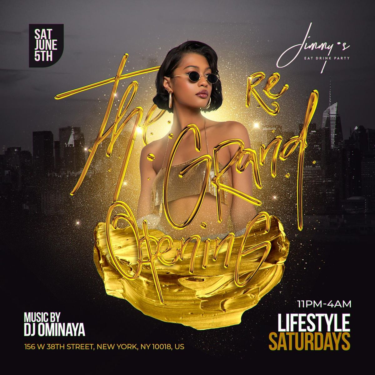 Lifestyle Saturdays At jimmys  nyc   Event in New York   AllEvents.in
