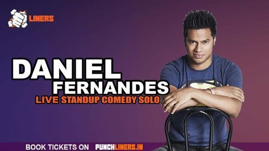 Punchliners Comedy Show: Daniel Fernandes in Bangalore, 24 April | Event in Bangalore | AllEvents.in
