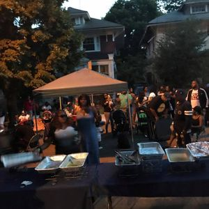 Annual Labor Day Custer Ave Block Party