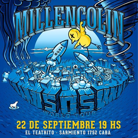 Millencolin en Argentina 21 de Septiembre 2021 en El Teatrito