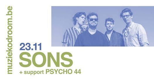 SONS  Psycho 44  muziekodroom