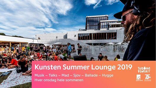 Kunsten Summer Lounge Hjalte Ross  sexolog Christian Graugaard