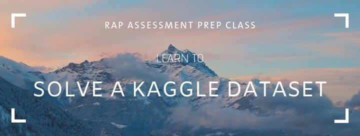 Solve a Kaggle Dataset at Analytics Training, Bangalore