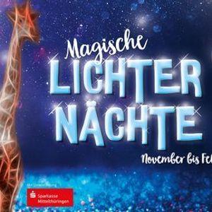 Magische Lichternchte im Thringer Zoopark Erfurt