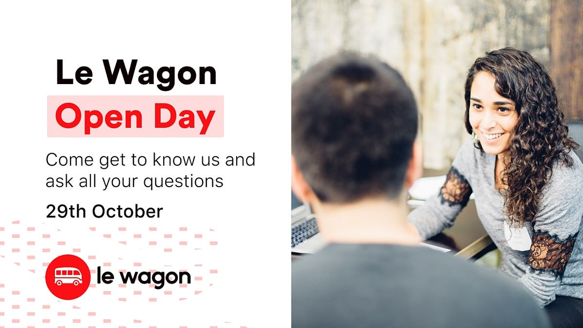 Le Wagon Singapore Open Day, 29 October | Event in Singapore | AllEvents.in