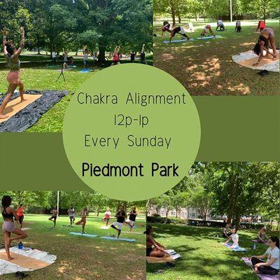 Yoga at Piedmont