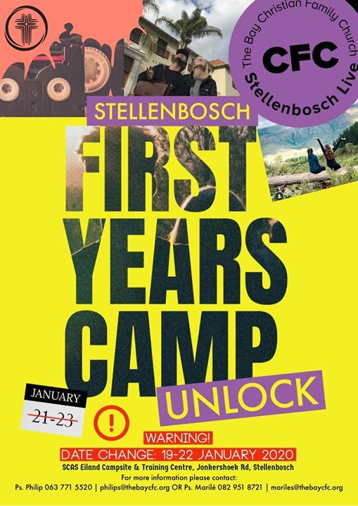 Unlock 2020 First Years Camp