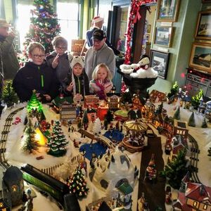 Rhinelander Railroad Museum Christmas Open House