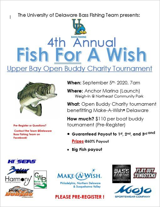 Fish for a Wish Open Charity Tournament