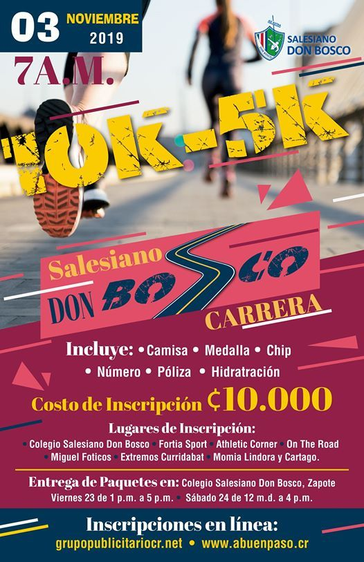 Carrera Salesiano Don Bosco 2019