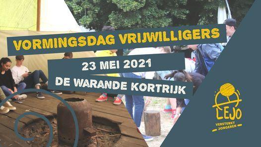 Vormingsdag vrijwilligers, 23 May | Event in Kortrijk | AllEvents.in