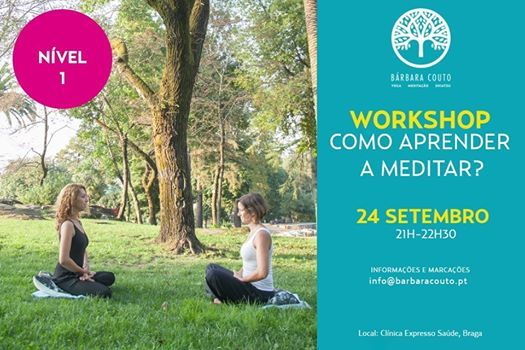 Workshop - Como Aprender a Meditar