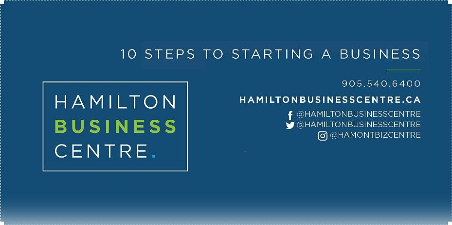 10 Steps to Starting a Business Webinar, 12 March | Event in Hamilton | AllEvents.in