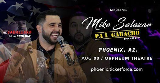 Mike Salazar en Phoenix AZ.