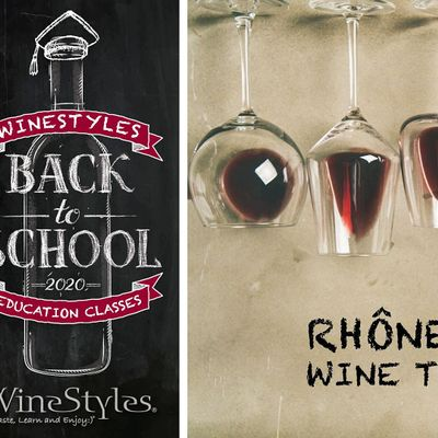 Back to School Wine Class - Rhone Ranger