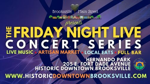 Friday Night Live Concert Series, 12 March | Event in Brooksville | AllEvents.in