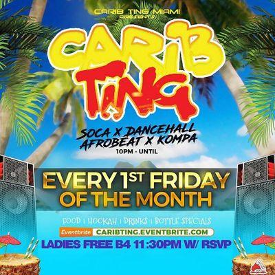 Carib Ting (Every 1st Friday)