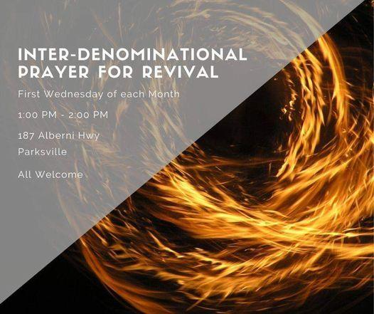 Multi-denominational Revival Virtual Prayer Gathering